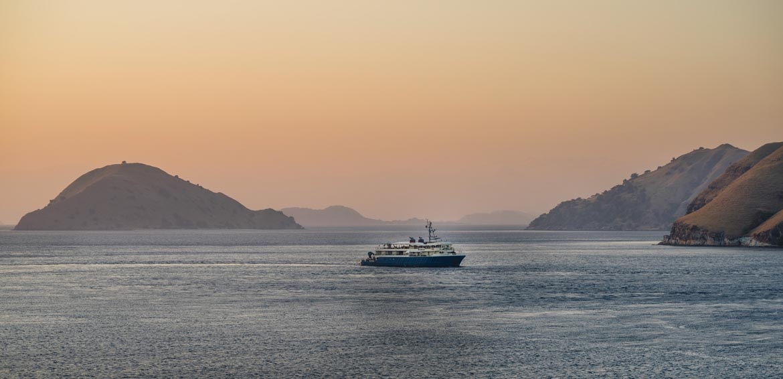 Kudanil Explorer Ship Sunrise Banda Neira Luxury Cruise